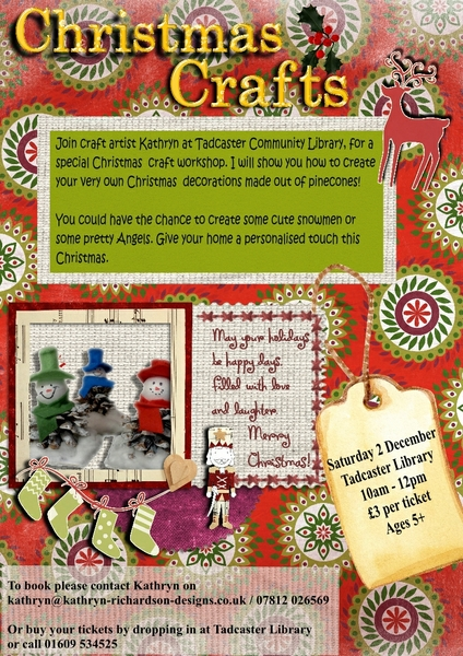 Christmas Crafts poster Final