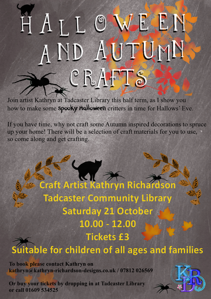Halloween and Autumn Crafts